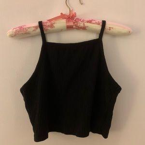 Cropped Black Cami